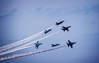 Blue Angels Smoke On