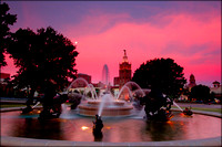 035 - Dawn at Nichols Fountain Kansas City